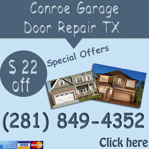 conroe texas parts garage door spring replacement